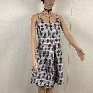 XX Life Live it Now Pineapple Print Dress